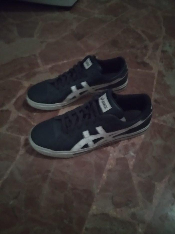 Προϊόν: Παπούτσια acics σε καλή κατάσταση μπλε- άσπρο νούμερο 43 τηλ:4 σε Πετρούπολη