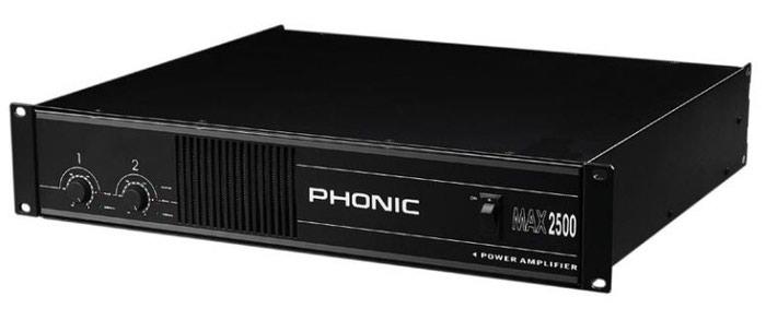 Усилитель phonic max 2500. Photo 0