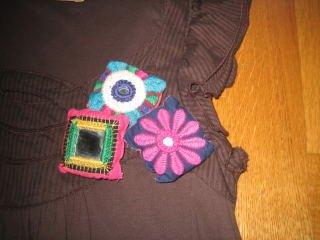 Zara αφορετο φορεμα - μπλουζοφορεμα small, με ωραιο σχεδιακι με. Photo 2