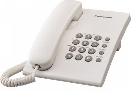 Fiksni telefon,Panasonic,sa 5m kabla i malim uticnicama - Beograd