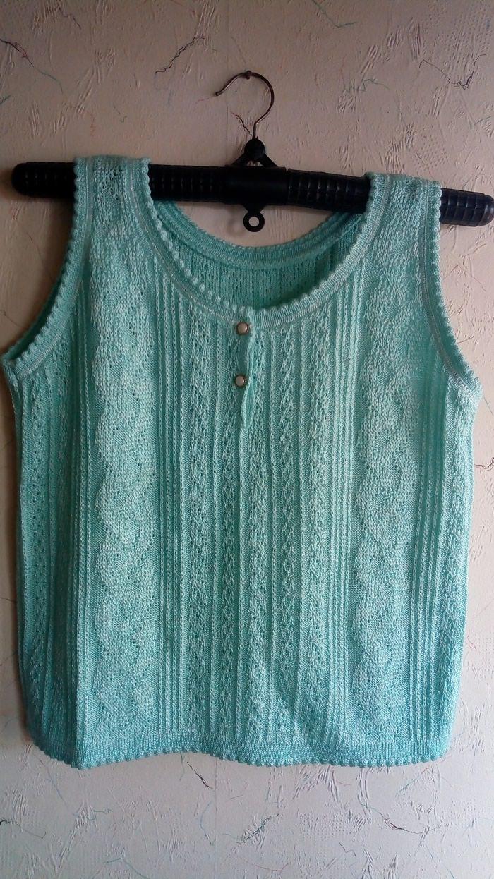 Ženska odeća - Kraljevo: Zenska nova majca. konac. sirina oko grudi 100cm. duzina. 57cm