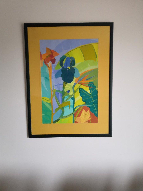 """Πίνακας Mauritius """"Bird of Paradise Flower"""""""