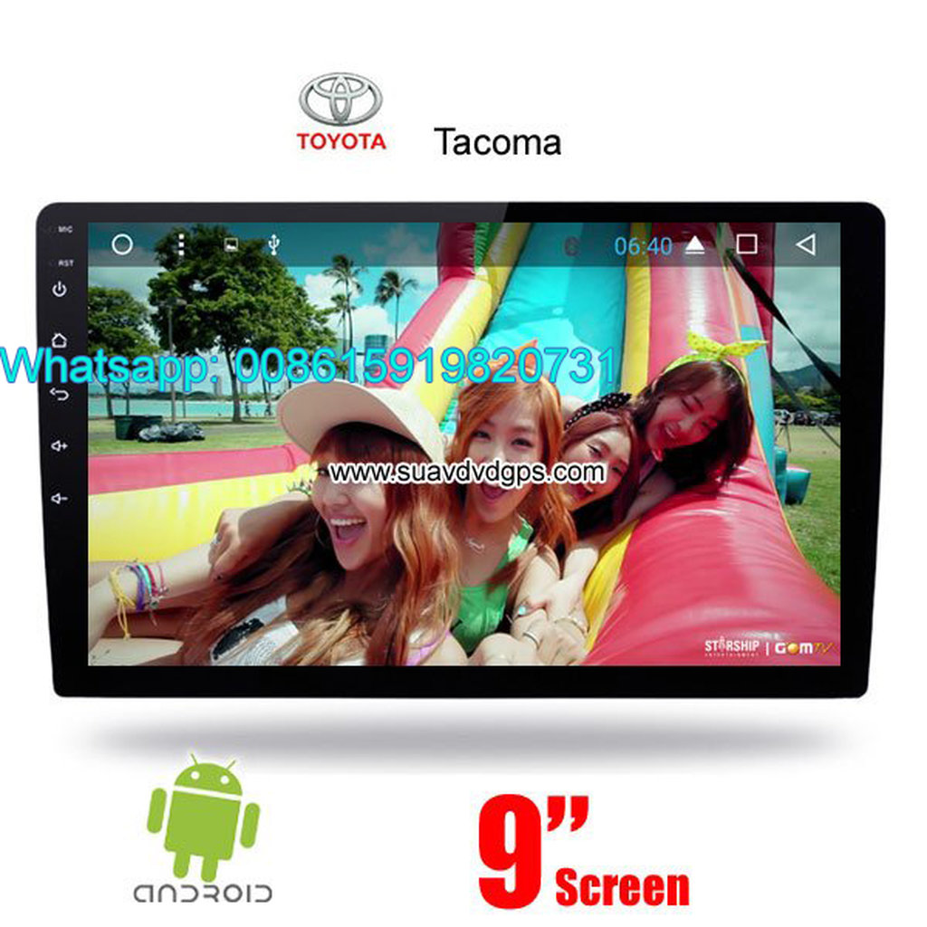 Toyota Tacoma Car audio radio android GPS navigation camera