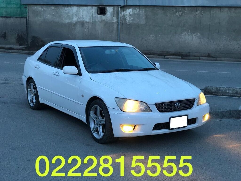 Toyota Altezza 2 л. 2003 | 22300 км: Toyota Altezza 2 л. 2003 | 22300 км
