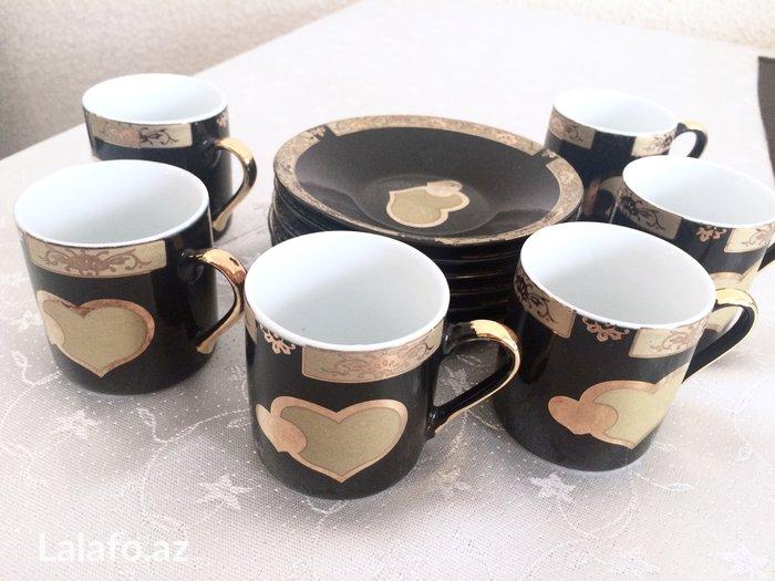 Bakı şəhərində посуда: набор кофейных чашек (япония), 5 штук - 15 манат