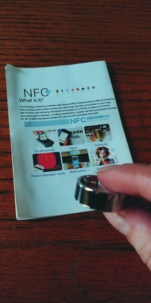 NFC- pametni prsten objasnjeno je sve na poslednjoj slici. Photo 0