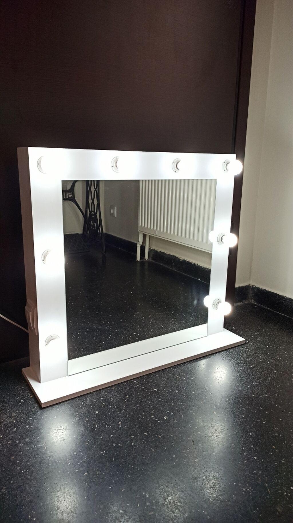 Καθρέπτες - Άγιοι Ανάργυροι: Καθρέφτης Hollywood καινουργιος χειροποίητος. Διαστασεις 70x65cm