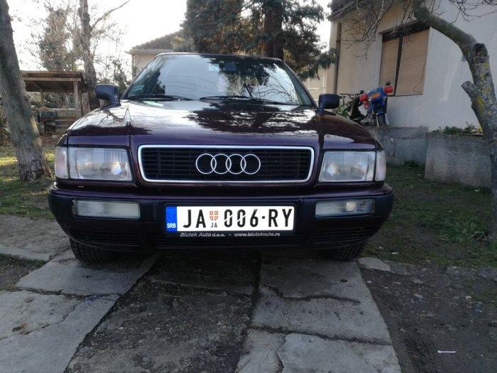 Audi b4 1995god, vlasnik licno, prenos obavezan, moze zamena za 124 me - Jagodina