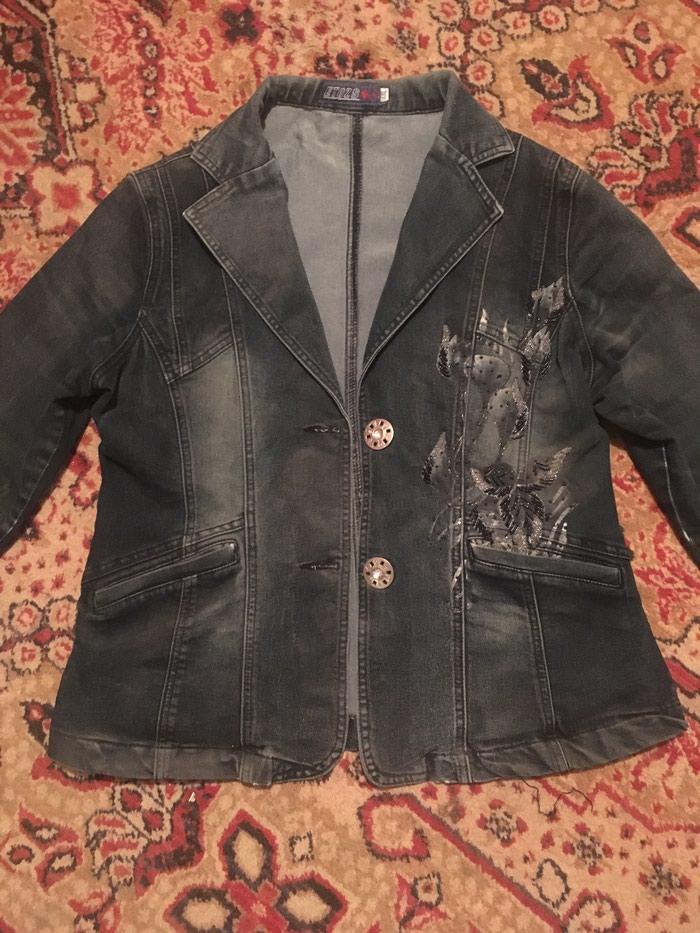 Джинсовая курточка,размер 46-48)Бишкек в Чаек