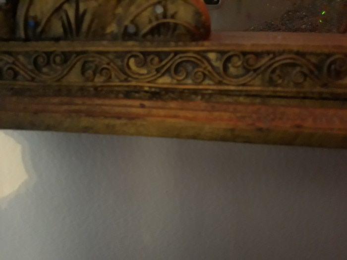 3 κομμάτια, καθρέπτης, μπιζουτιερα, κασελακι. Photo 8