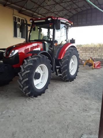 Saray şəhərində Basak traktoru 2110