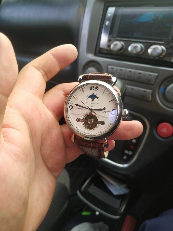 Часы Vecheron Constantin Geneve люкс качества механический, все функции! Кож