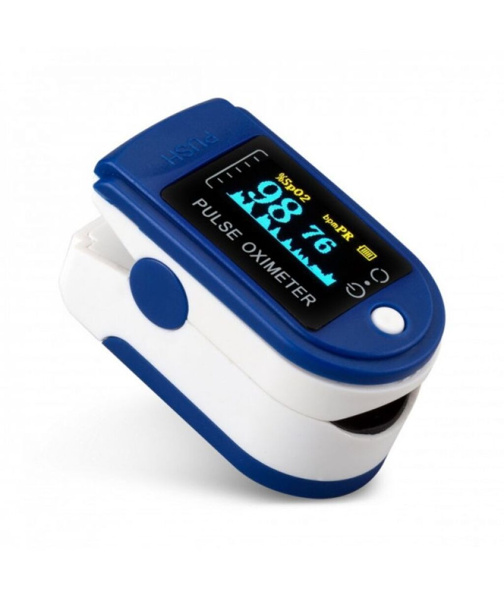 Пульсоксиметр Ликвидация склада Распродажа2 в 1 Измеряет пульс и по цене: 450 KGS: Пульсоксиметр  Ликвидация склада Распродажа2 в 1 Измеряет пульс и
