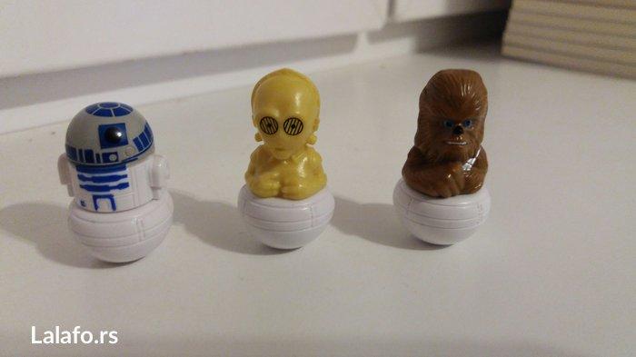 Star wars rollinz. Cena jedne figurice 30 din, cena za sve tri je 75 - Jagodina