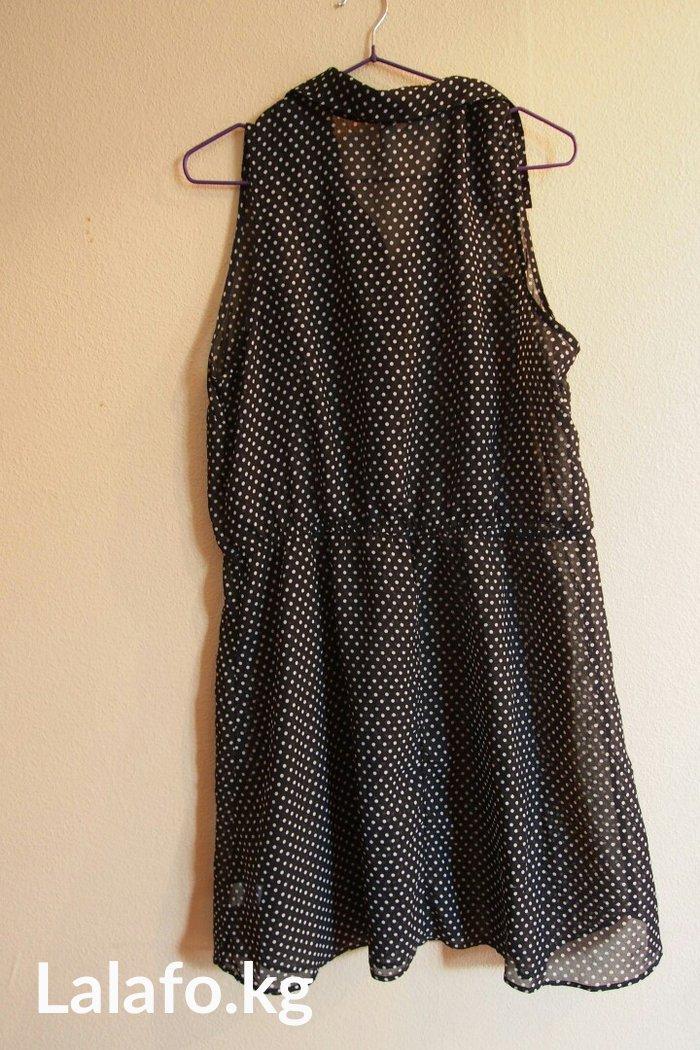 Лёгкое женское платье. Состояние отличное. Размер 42-46. в Бишкек