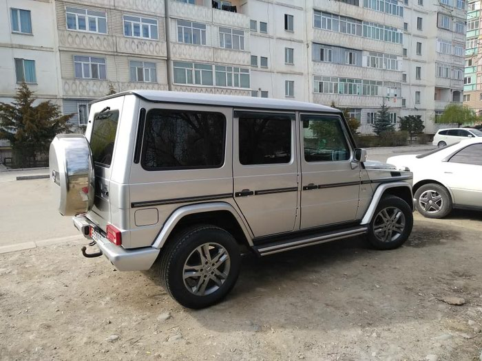 Mercedes-Benz G 400 2004. Photo 0