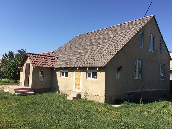 Продаю новый дом в городе Талас. Участок 6 сот. , санузел, электр. ото в Талас