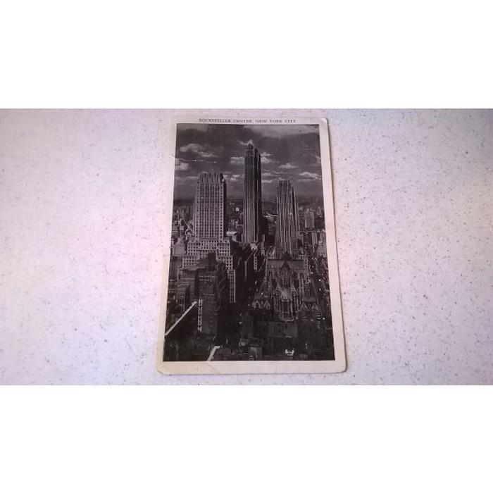 1 Καρτ Ποστάλ - Rockefeller Center, New York City