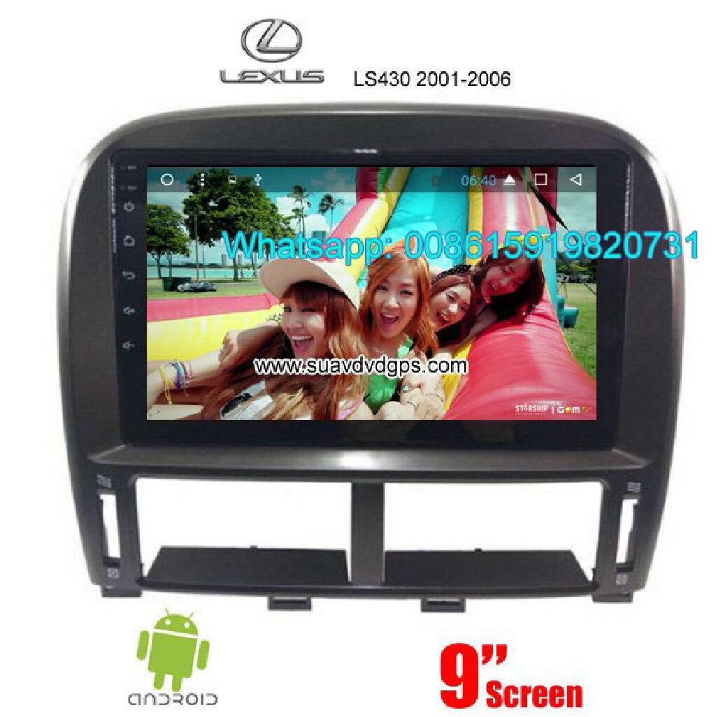 LEXUS LS430 Car audio radio android GPS navigation camera