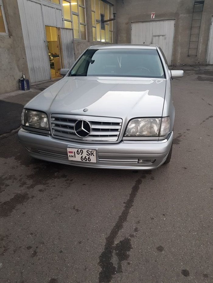 Mercedes-Benz S-Class 1997. Photo 0