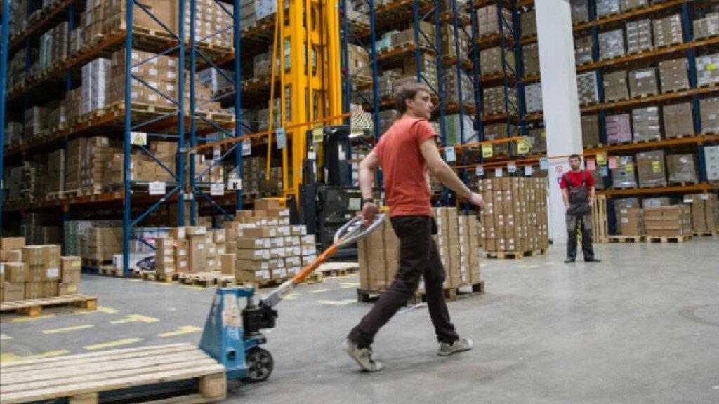 Работа в Полшу на складах