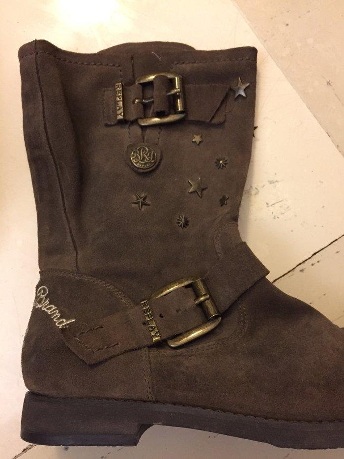 Replay boots . No 38  σε Υπόλοιπο Αττικής