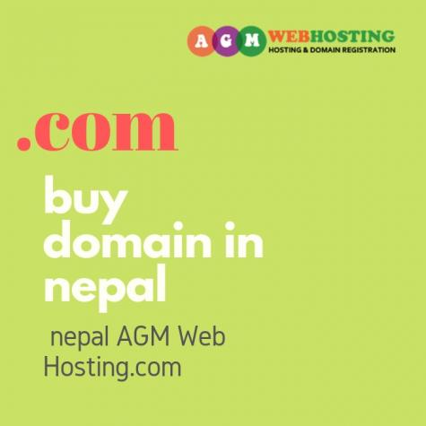 Now get register  buy domain in nepal Yes You Heard That Right! Exclusive Offer only @AGM_WEB_HOSTING