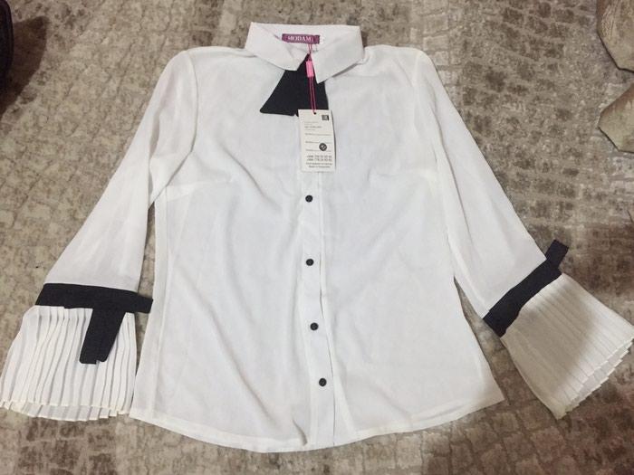 продам новую красивую блузку,белую рубашку, цена  550 KGS в ... c046d5c4bc7