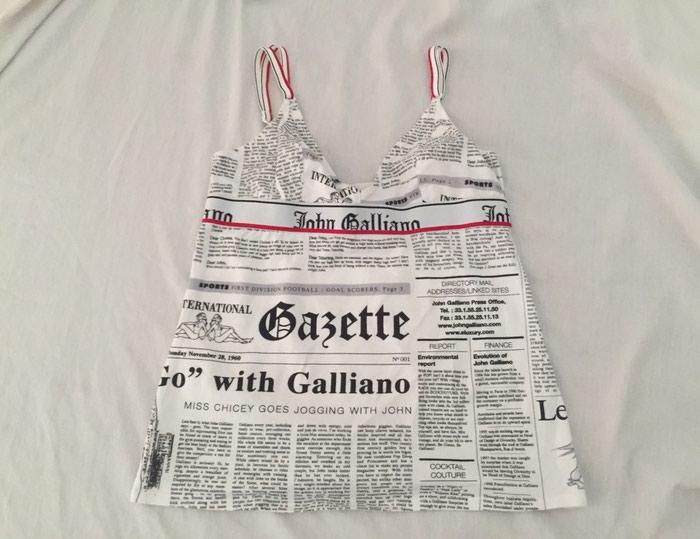 John Galliano αυθεντικό μπλουζακι με. Photo 2
