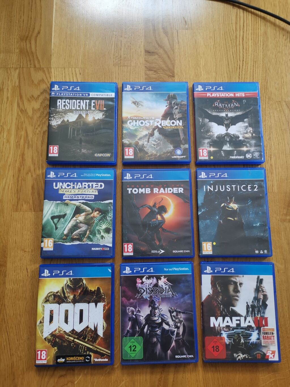 PS4 igrice u odlicnom stanju! Popust na kolicinu!   Oglas postavljen 26 Jul 2021 16:31:15   PS4 (SONY PLAYSTATION 4): PS4 igrice u odlicnom stanju! Popust na kolicinu!