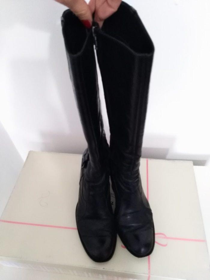 Čizme kožne, u dobrom stanju, izuzetno udobne, vel. 39. Photo 4