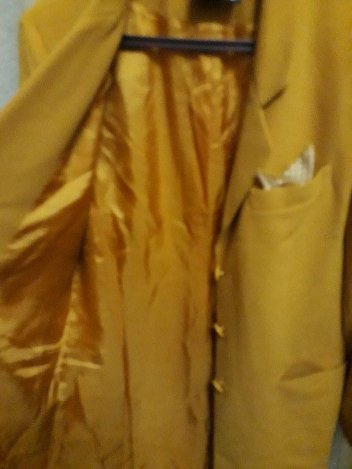 Жакет женский новый 46 размер горчичного цвета. Photo 3