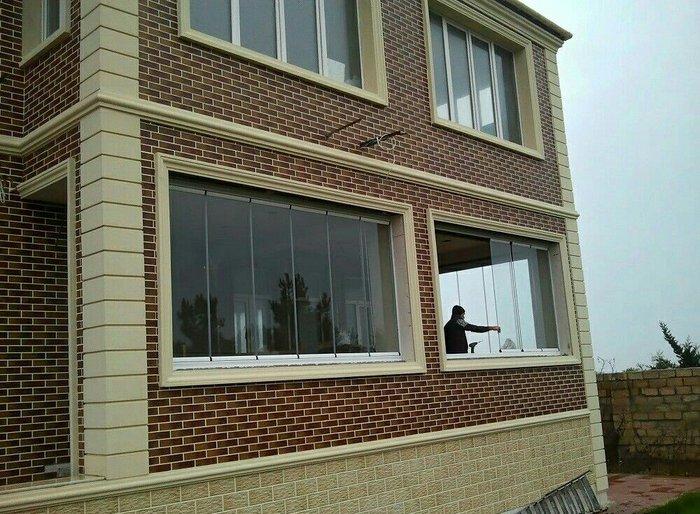 Bakı şəhərində Evinizin istenilen dizanerine uygun olaraq cam balkon ve dus kabine