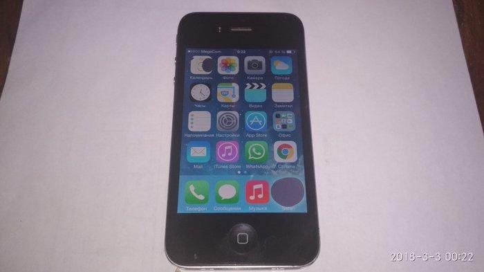 Iphone 4. все работает, единственный минус-два маленьких пятна на экра в Лебединовка