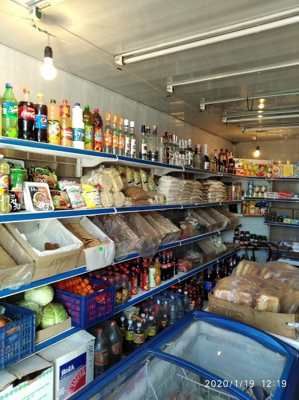 Бишкек шаарында ак бата конушунда кантейнер магазин сатылат келишим баада холодильник морозильник кондиционер бар полкасы заводской
