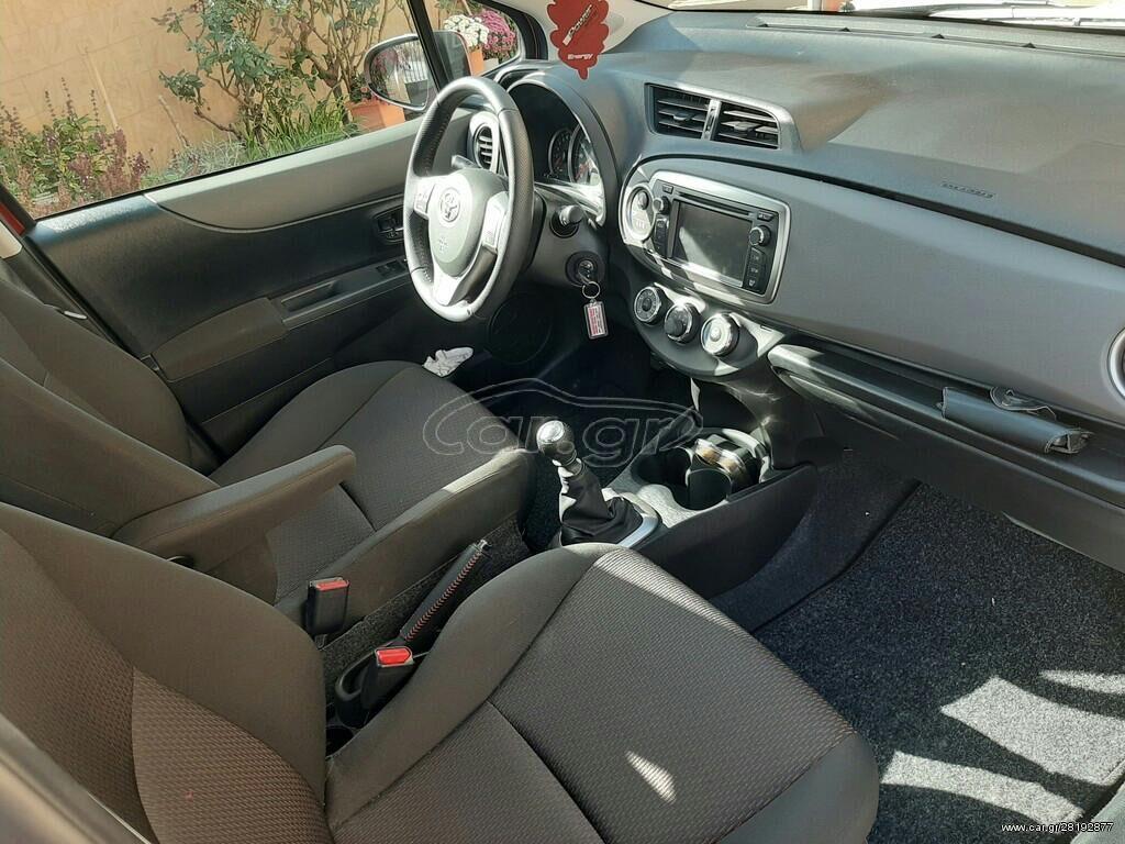 Toyota - Μινώα Πεδιάδα: Toyota Yaris 1.4 l. 2012   1500 km