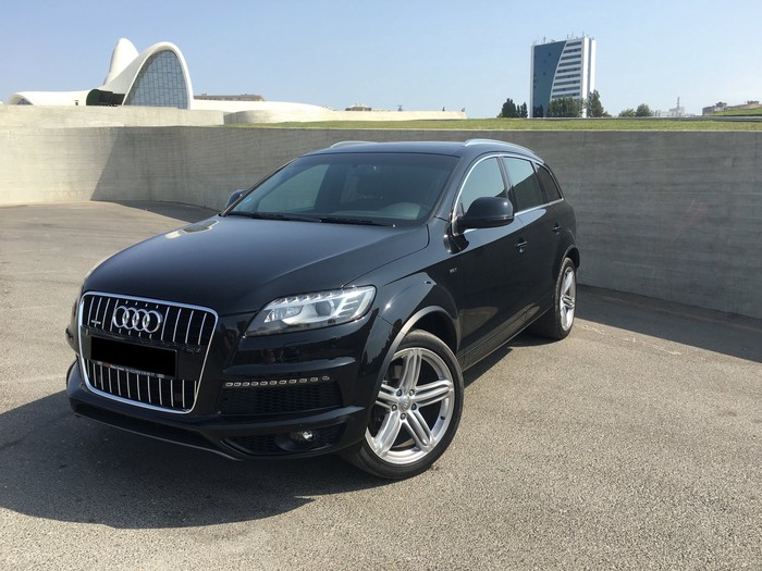 Audi Q7 2014. Photo 3