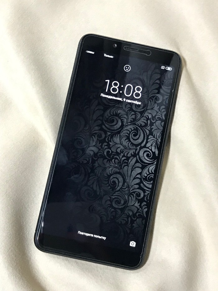Б/у Xiaomi Redmi 6 32 ГБ Черный. Photo 0