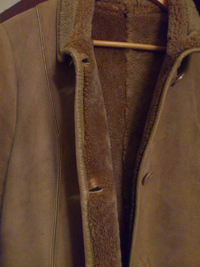 Дубленка, женская, размер 46-48, длина 116 см.. Photo 3