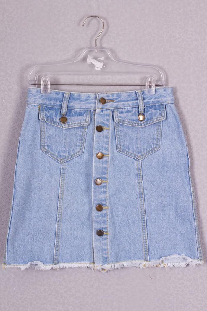 Джинсовая юбка размер 42-44. Photo 0