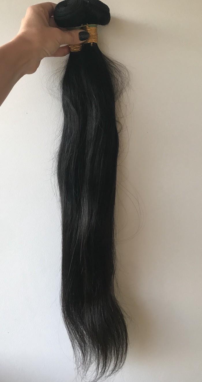 PRIRODNA/Human hair,NOVO . 65cm dužina, 2m širina trese i oko 160gr - Novi Sad