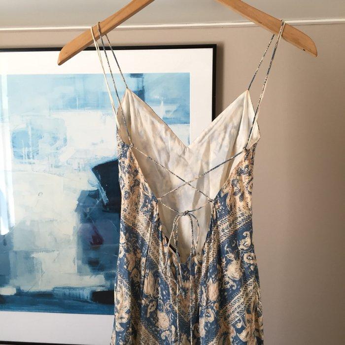 Αυθεντικό Ralph Lauren αμάνικο, μεταξωτό,maxi. Photo 6