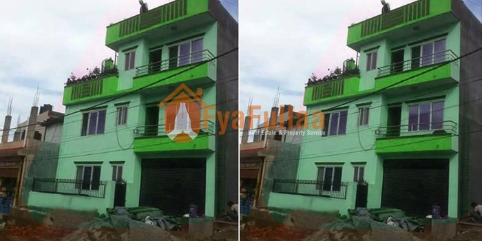 A beautiful new flat system house having land area 0-3-2-0 of 2.5 in Kathmandu