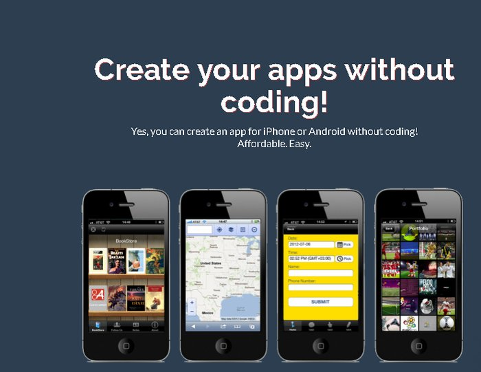 how to create your own app on iphone