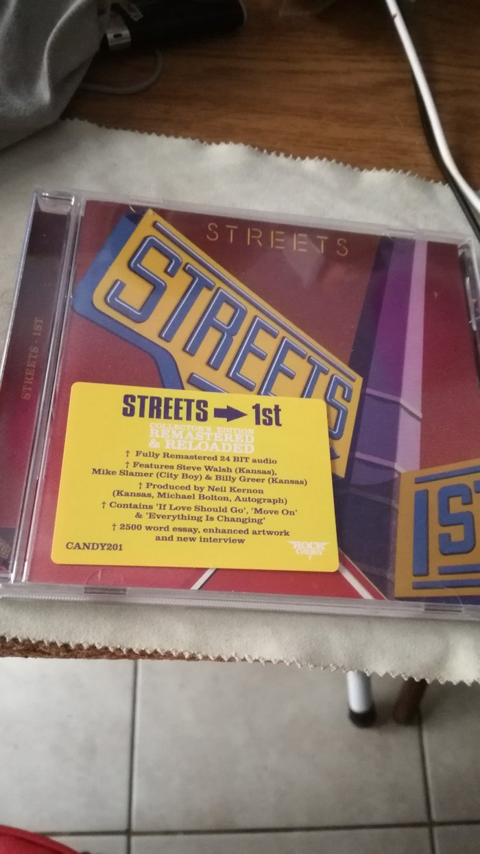 Streets 1st Rock Candy Remastered CD.. Photo 0