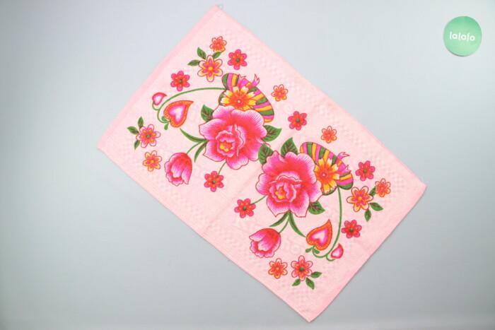 Рушник з квітами     Розмір: 46х70 см  Стан гарний: Рушник з квітами     Розмір: 46х70 см  Стан гарний
