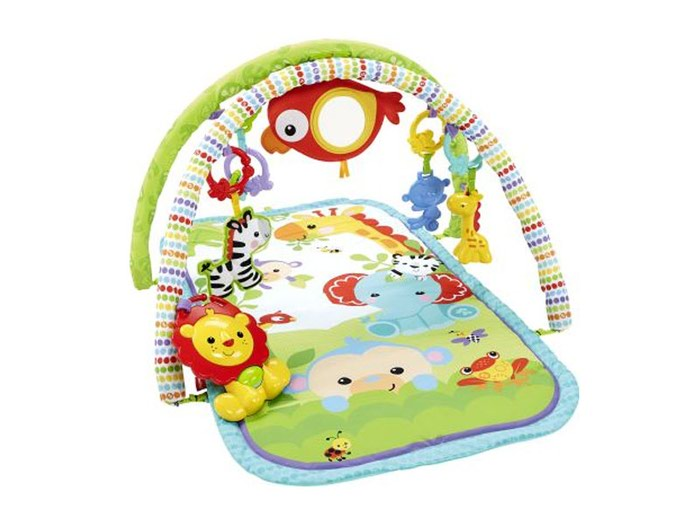 Fisher Price Παπλωμα-Γυμναστηριο 3 in 1 Musical Activity Gym