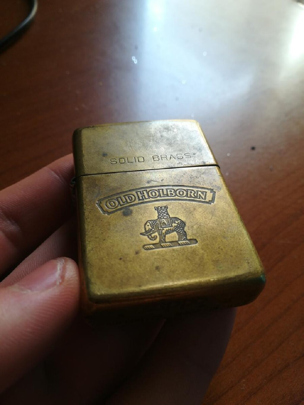 Old Holborn lighter αναπτήρας zippo from 1932