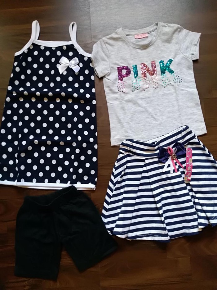 Kompletić garderobe za devojčicu - Novo