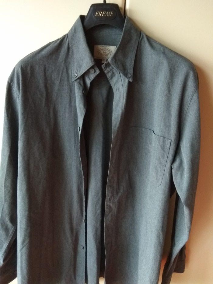 ARMANI πουκάμισο, γνήσιο, γκρι, xl, σχεδόν αφόρετ, από την προσωπική μου καρνταρόμπα